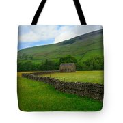 Dry Stone Walls And Stone Barn Tote Bag