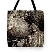 Drying Onions Tote Bag