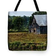 Drying Tobacco Barn Tote Bag