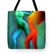 Dual Dancers 2011 Tote Bag