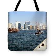 Dubai Pier Tote Bag