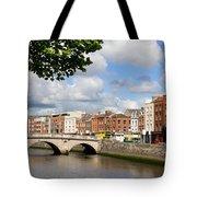 Dublin Cityscape Tote Bag