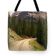 Dubois Mountain Road Tote Bag