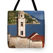 Dubrovnik Architecture Tote Bag