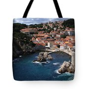 Dubrovnik By The Sea Tote Bag