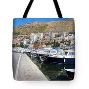 Dubrovnik Cityscape And Harbor Tote Bag