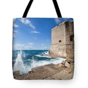 Dubrovnik Fortification And Pier Tote Bag