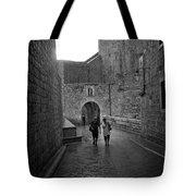 Dubrovnik In The Rain Tote Bag