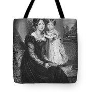 Duchess Of Kent & Victoria Tote Bag