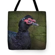 Duck Ala Grunge Tote Bag
