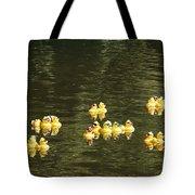 Duck Derby Ducks Tote Bag