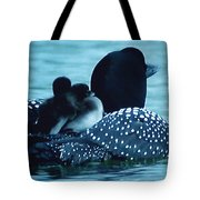 Duck Family Joy In The Lake  Tote Bag by Colette V Hera  Guggenheim