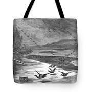 Duck Hunting, 1871 Tote Bag