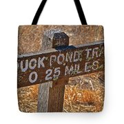 Duck Pond Trail Tote Bag