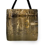 Duck Ripples Tote Bag