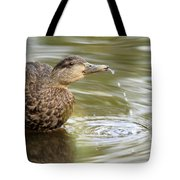 Duck Spits Tote Bag