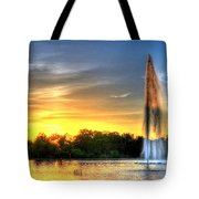 Duckling Dinner Time Tote Bag
