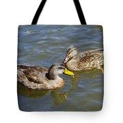 Ducks In The Sun Tote Bag