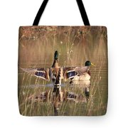 Ducks Of Douglas Tote Bag