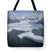 Dugdale And Murray Glaciers Antarctica Tote Bag by Tui DeRoy
