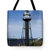Duluth Lighthouses 1 Tote Bag