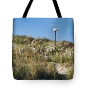 Dune Bird House Tote Bag