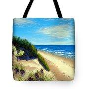 Dunes At Dalvay Tote Bag