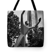 Dunking Over Devon Tote Bag