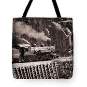 Durango And Silverton Steam Train Tote Bag