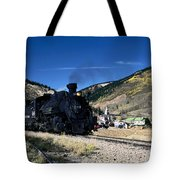 Durango And Silverton Train Tote Bag