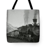 Durango Silverton Bw Painterly 2 Tote Bag