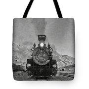 Durango Silverton Bw Painterly 3 Tote Bag