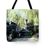 Durango Silverton Steam Locomotive Tote Bag