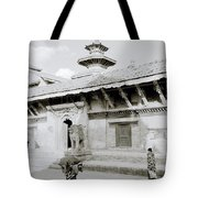 Durbar Square Tote Bag