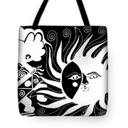 Dusk Dancer - Inverted Tote Bag