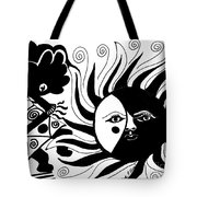 Dusk Dancer Tote Bag