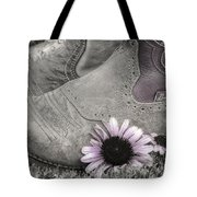 Dusky Megaboots Tote Bag by Joan Carroll