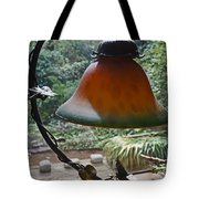 Dusty Old Lamp In Morning Light Tote Bag