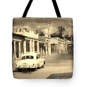 Dusty Old Town Tote Bag