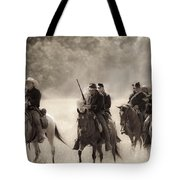 Dusty Trail Tote Bag