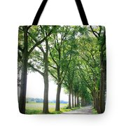 Dutch Country Road Tote Bag