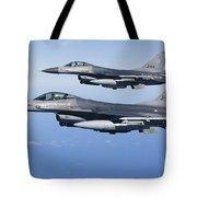 Dutch F-16ams During A Combat Air Tote Bag