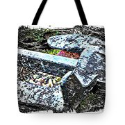 Duty Is Done - Warship Anchor Tote Bag