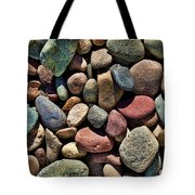 Dyed Stones Tote Bag
