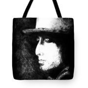 Dylan In The Shadows Tote Bag