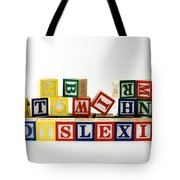 Dyslexia Tote Bag by Photo Researchers, Inc.
