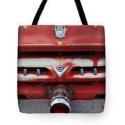 E Town Fire Truck Tote Bag