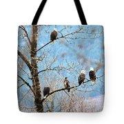 Eagle Family Tote Bag