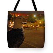 Eagle Watching Grants Pass Night Tote Bag