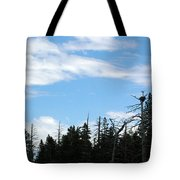 Eagles Nest Lake Tahoe Tote Bag
